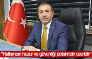 """Başkan Erdoğan, """"Halkımızın huzur ve güvenliği,..."""