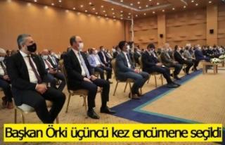 Başkan Örki, Akdeniz Belediyeler Birliğinde üçüncü...