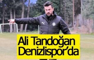 Denizlispor'un yeni teknik direktörü Ali Tandoğan...