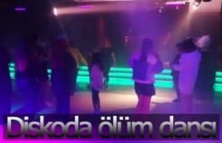 Diskoda ölüm dansı!