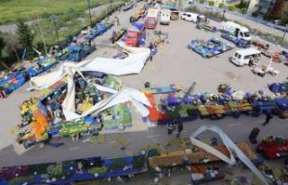 İzmir Güzelbahçe esnafının zararı karşılanacak