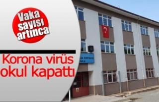 Koronavirüs okul kapattı