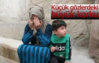 Mülteci ailenin evi alevlere teslim oldu