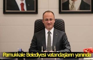 Pamukkale Belediyesi tam kapanmada vatandaşların...