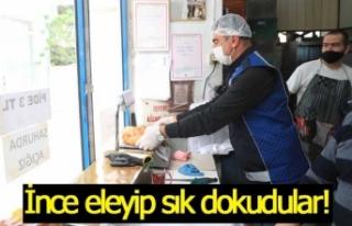 Pamukkale Zabıtasından fırınlara Ramazan denetimi