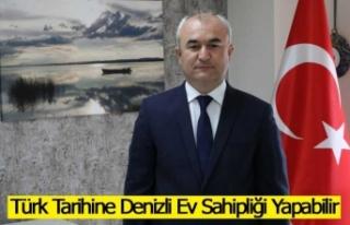 Yusuf Garip'ten Denizli için Dev Türk Tarih Müzesi...