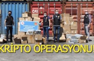 5 milyonluk kripto operasyonu!