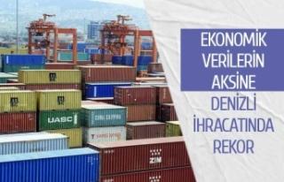 Ekonomik verilerin aksine Denizli ihracatı rekor...