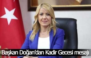 Merkezefendi Belediye Başkanı Doğan'ın Kadir...