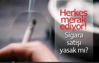 Sigara tiryakilerinin merak ettiği soruya bakanlık...
