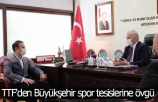 TTF Başkanı Yalçınkaya'dan Başkan Zolan'a...