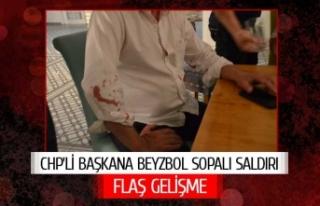 Belediye başkanına beyzbol sopalı saldırı