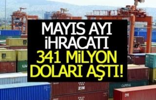 Denizli'nin mayıs ayı ihracatı 341 Milyon...