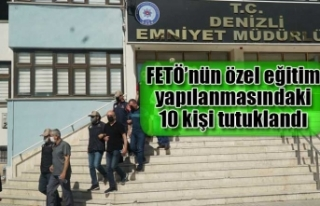 FETÖ'nün özel eğitim yapılanmasındaki 10 kişi...