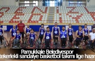 Pamukkale Belediyespor tekerlekli sandalye basketbol...
