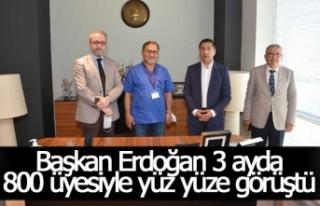 DTO Başkanı Erdoğan, 3 ayda 800 üyesiyle yüz...
