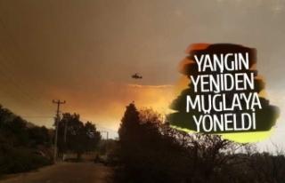 Aydın'daki yangın büyüyor!