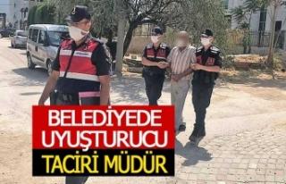 Belediye muhasebecisi uyuşturucu taciri