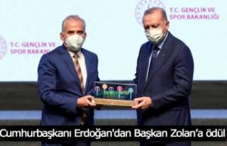 Cumhurbaşkanı Erdoğan'dan Başkan Zolan'a...