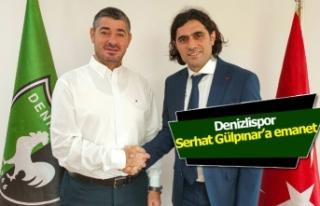 Denizlispor Serhat Gülpınar'a emanet