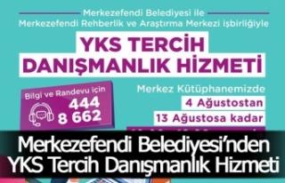Merkezefendi Belediyesi'nden YKS Tercih Danışmanlık...