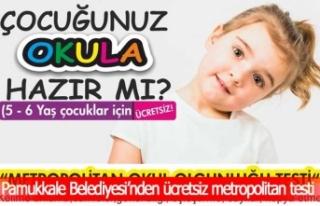 Pamukkale Belediyesi'nden ücretsiz metropolitan...