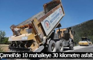 Büyükşehir asfalt çalışmalarında hız kesmiyor