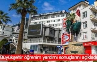 Büyükşehir'den öğrencilere 4,8 milyon TL...