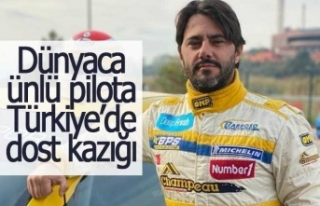 """Dünyaca ünlü yarışçı """"Türkiye"""" de..."""