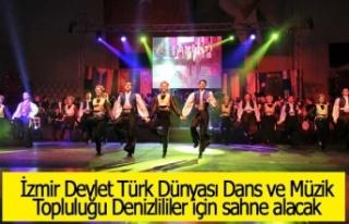 İzmir Devlet Türk Dünyası Dans ve Müzik Topluluğu...
