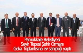 Pamukkale Belediyesi Seyir Tepesi Şehir Ormanı Geka...