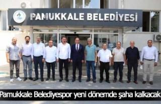 Pamukkale Belediyespor'da şahlanma devri!