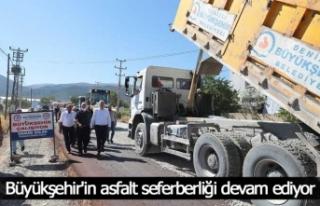 Serinhisar-Yatağan'ın ulaşım sorununa Büyükşehir'den...