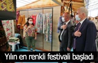 Yılın en renkli festivali başladı
