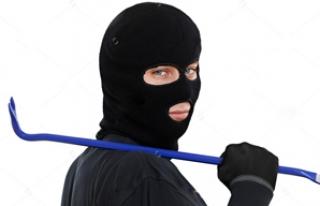 Tesis hırsızı polis tarafından yakalandı