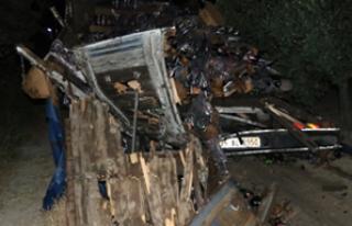 Yolcu otobüsü zincirleme kaza yaptı 11 yaralı