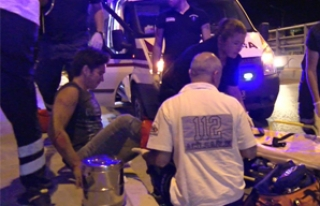 Çevre yolunda motosiklet kazası; 2 yaralı