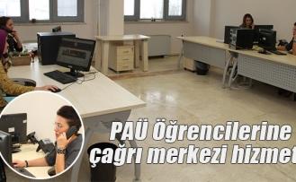 PAÜ Öğrencilerine çağrı merkezi hizmeti
