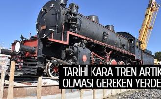 Tarihi Kara Tren artık olması gereken yerde!