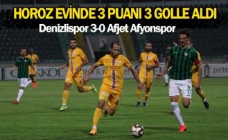 Horoz evinde 3 puanı 3 golle aldı