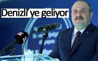 Bakan Varank, Denizli'ye geliyor