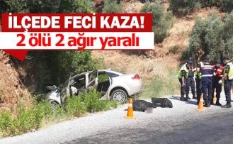 2 kişi korkunç kazada hayatını kaybetti