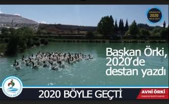 Başkan Örki 2020'de destan yazdı!