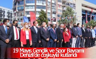 19 Mayıs Gençlik ve Spor Bayramı Denizli'de coşkuyla kutlandı