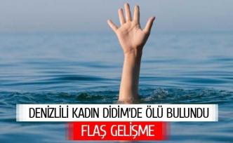 Denizlili kadın Didim'de ölü bulundu