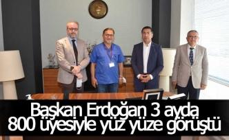DTO Başkanı Erdoğan, 3 ayda 800 üyesiyle yüz yüze görüştü