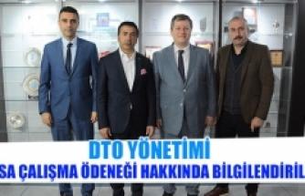 DTO yönetimi, kısa çalışma ödeneği hakkında bilgilendirildi