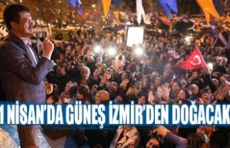 1 Nisan'da güneş İzmir'den doğacak