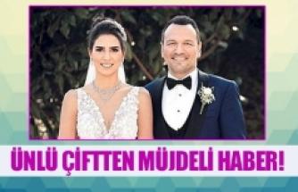 Ünlü çiftten müjdeli haber!
