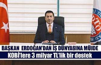 Başkan Erdoğan'dan iş dünyasına müjde